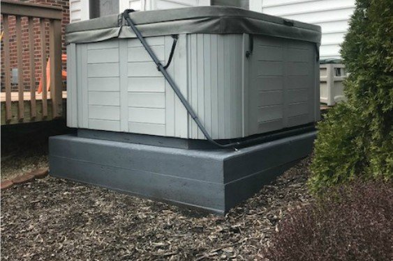 ask about our hot tub disposal services.